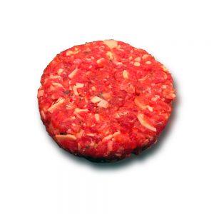 Runder Cheeseburger, circa 150 gram