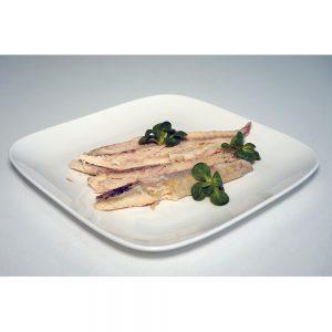 Gerookte makreelfilet, circa 500 gram